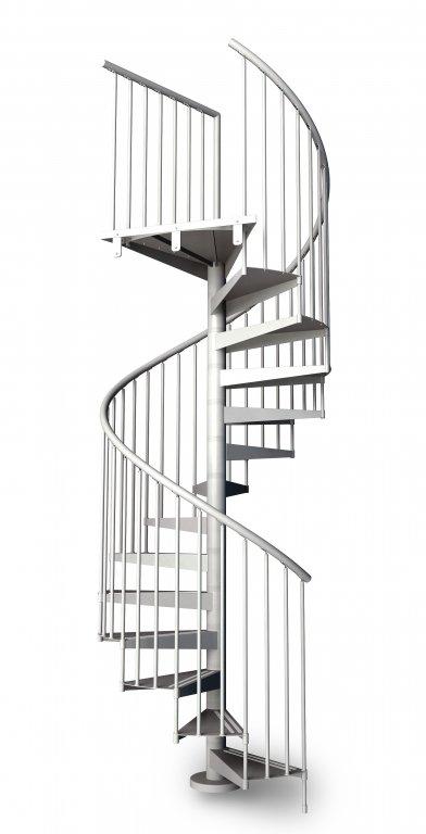 chiocciola in metallo f20 scale pronte scale
