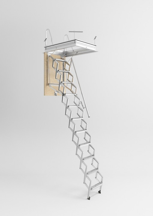 Scala retrattile per soffitta scale pronte scale for Scala per soffitta