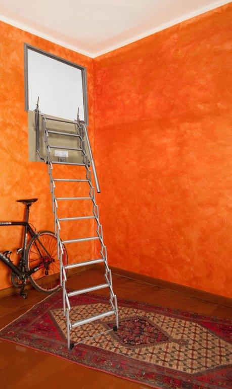 Scala retrattile da parete scale pronte scale - Scale a parete ...