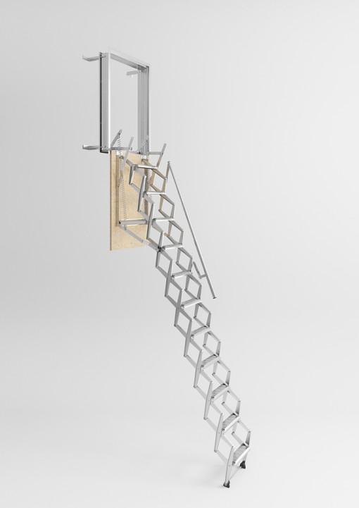 Scala retrattile da parete scale pronte scale economiche prefabbricate - Scale retrattili a parete ...